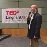 Groshong does TEDx lecture