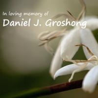 Invitation to a memorial dinner for Daniel J. Groshong